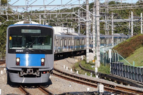 2015-11-03 西武20101F 急行飯能行き