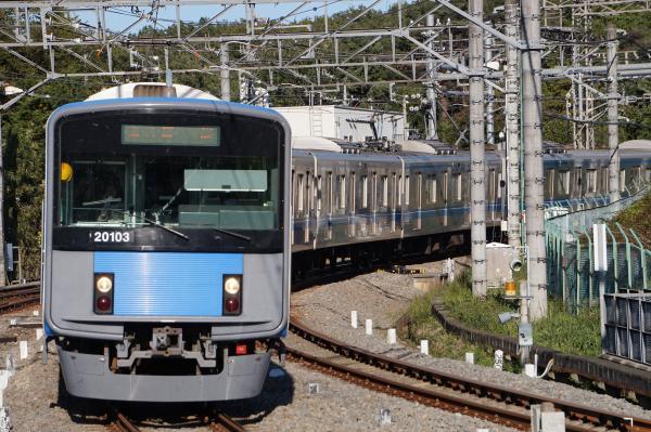 2015-11-03 西武20103F 急行飯能行き