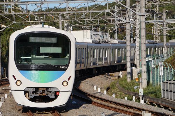 2015-11-03 西武30103F 準急飯能行き