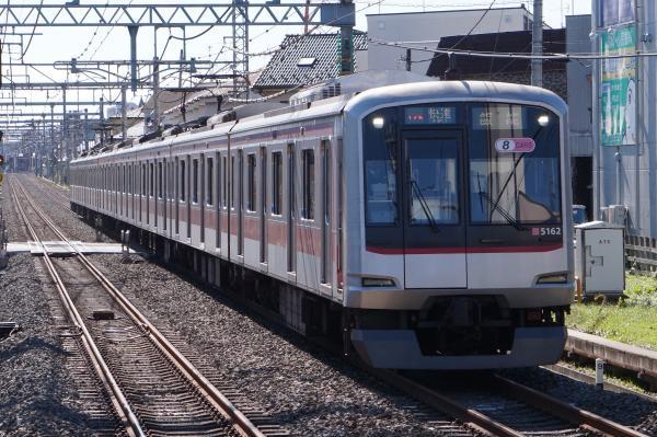 2015-11-03 東急5162F 快速飯能行き