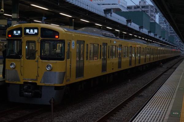 2015-11-07 西武2085F 各停豊島園行き 5487レ