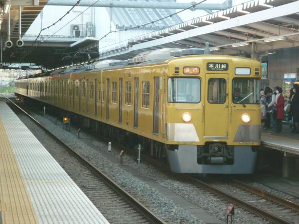 2015-03-30 西武2525F+2013F 急行本川越行き 2663レ