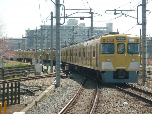 2015-03-30 西武2525F+2013F 急行西武新宿行き2 2330レ