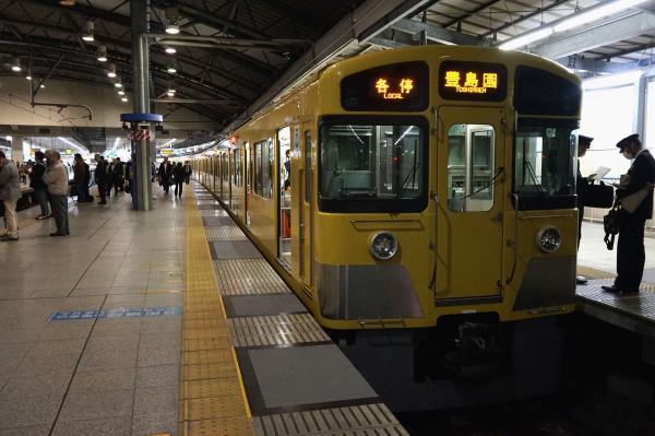 2015-11-13 西武2097F 各停豊島園行き