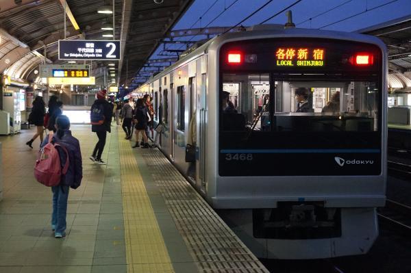 2015-11-26 小田急3268F 各停新宿行き