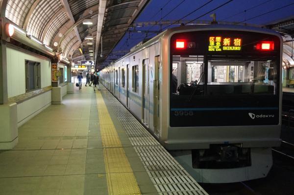 2015-11-26 小田急3658F 区間準急新宿行き