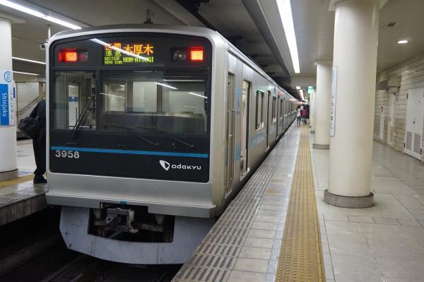 2015-11-26 小田急3658F 区間準急本厚木行き