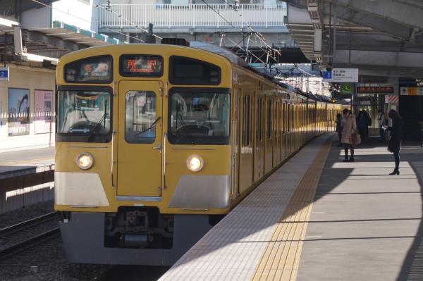 2015-11-28 西武2097F 各停所沢行き1 5301レ