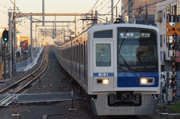 2015-11-28 西武6151F 各停保谷行き 6373レ