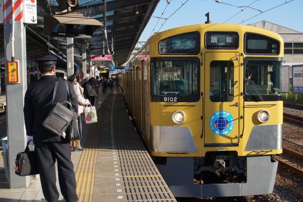 2015-11-28 西武9102F 準急飯能行き 4133レ