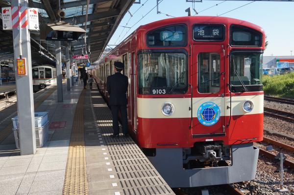 2015-11-28 西武9103F 準急池袋行き 4128レ