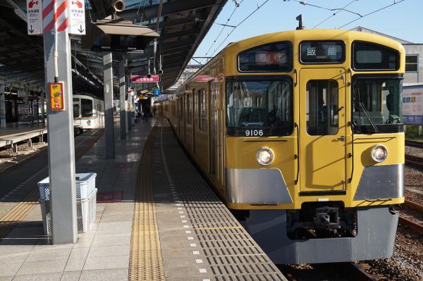 2015-11-28 西武9106F 急行飯能行き2 2133レ