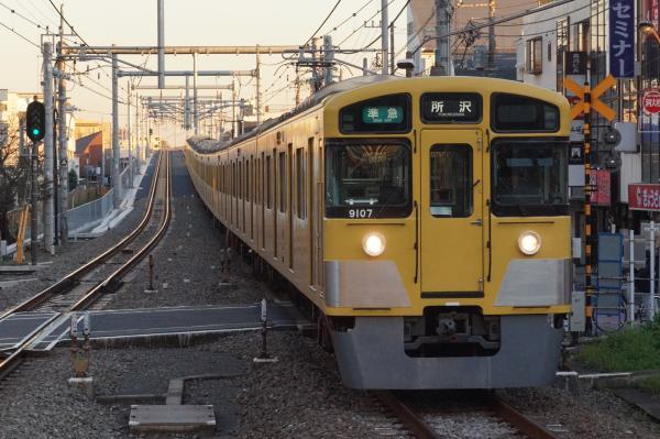 2015-11-28 西武9107F 準急所沢行き 4309レ