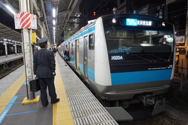 2015-12-04 京浜東北線E233系サイ117編成 各駅停車大宮行き1