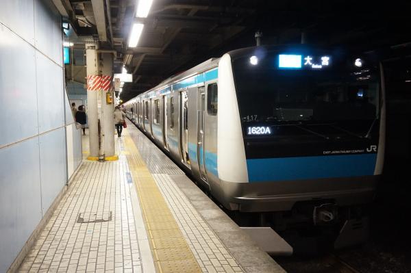 2015-12-04 京浜東北線E233系サイ117編成 各駅停車大宮行き2