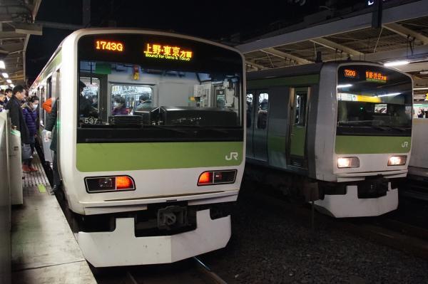 2015-12-04 山手線E231系 並び