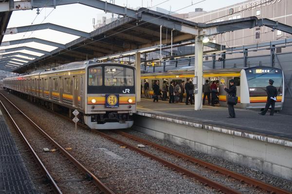 2015-12-04 南武線205系ナハ39編成 川崎行き3