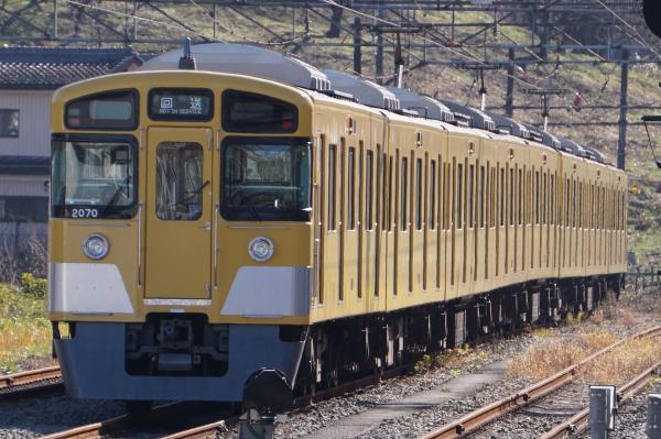 2015-12-05 西武2069F 回送