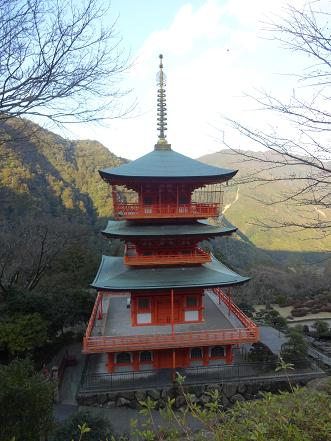 熊野大社 三重の塔