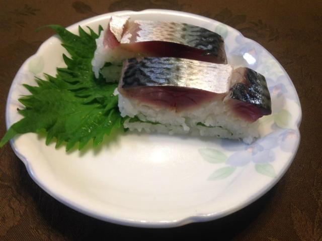 s鯖押し寿司1