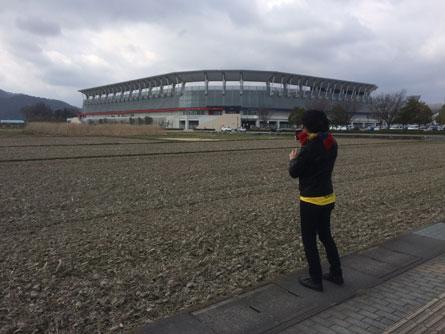 田んぼのスタジアム_160327
