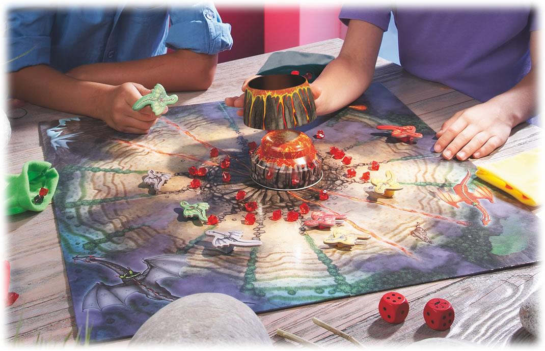 ファイアドラゴン:遊戯中