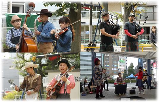 高円寺フェス:ストリートライブ&パフォーマンス