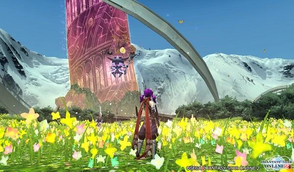 花畑の広がるナベリウス