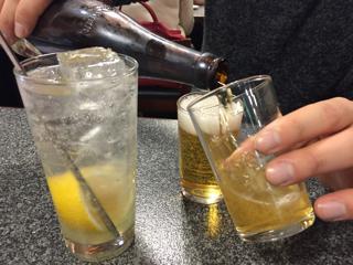 2軒目のビール
