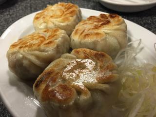 海老にら餃子(並盛 4個)