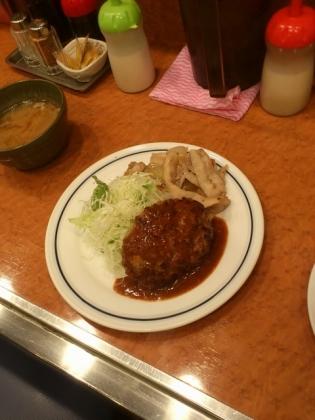 キッチンジロー秋葉原ハンバーグ&スタミナ焼き3