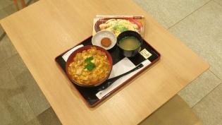 守谷SA鶏三和親子丼(名古屋コーチン)5