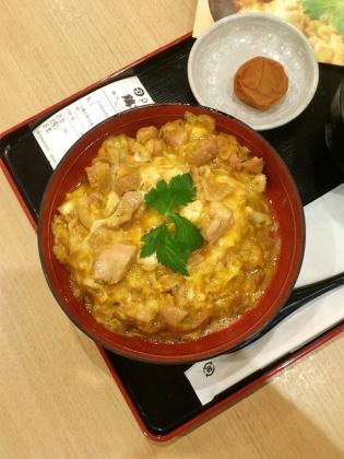 守谷SA鶏三和親子丼(名古屋コーチン)7