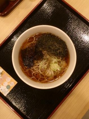 生蕎麦いろり庵きらく北海道産かごめ昆布そば3