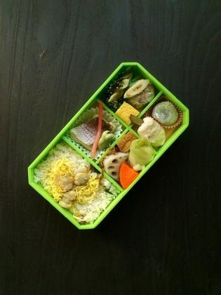崎陽軒蛤(はまぐり)ごはん弁当11