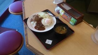 松屋鶴間駅前坦々エッグプレート5