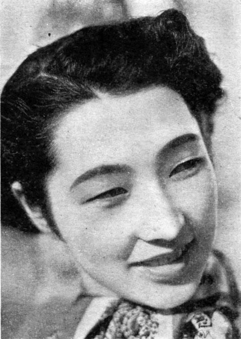 高峰三枝子1938may