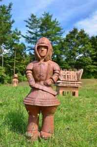 武人形埴輪