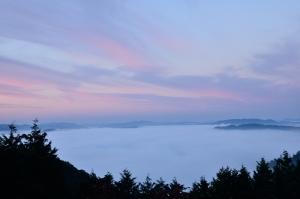 臥牛山の雲海