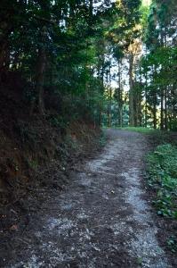 備中松山城への山道