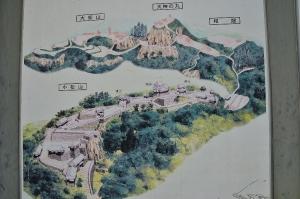 備中松山城 案内図
