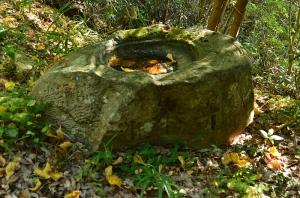 天神社手水鉢