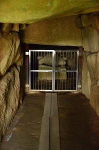 こうもり塚古墳 石室内