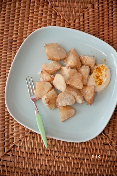 菊芋のから揚げ1