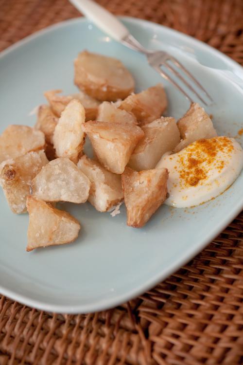 菊芋のから揚げ2