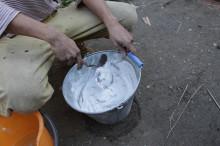 漆喰づくり