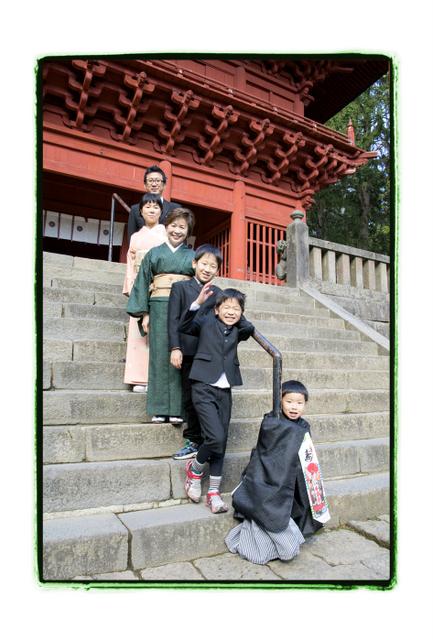 青森県 弘前市 岩木山神社 七五三 記念 写真 撮影 出張 カメラマン ロケーション 神社