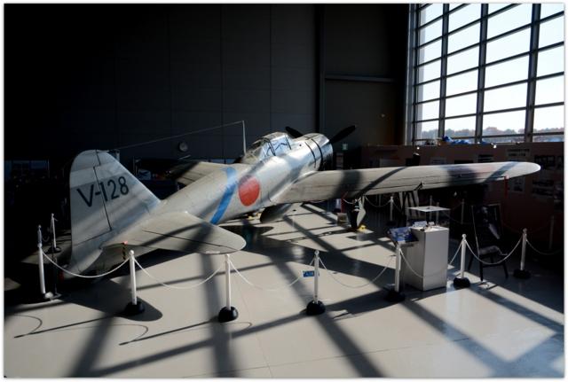 青森県 三沢市 三沢市おもてなしバスツアー 青森県立航空科学館 大空ひろば 零戦 ゼロ戦