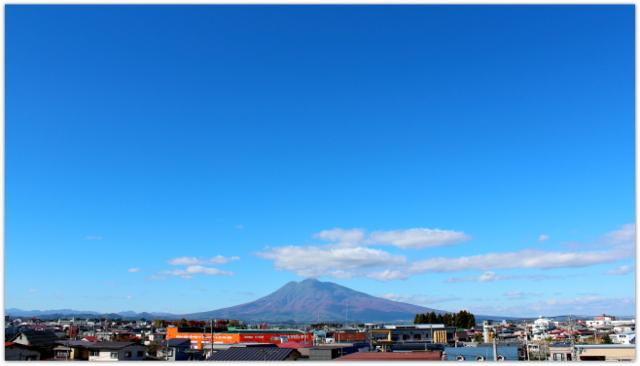青森県 弘前市 岩木山 写真 今日の岩木山