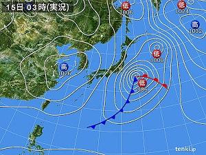 15日天気